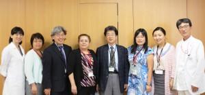 Fig 8 Ito Hospital visit