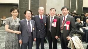 山東大学訪問団李先生、孔先生と